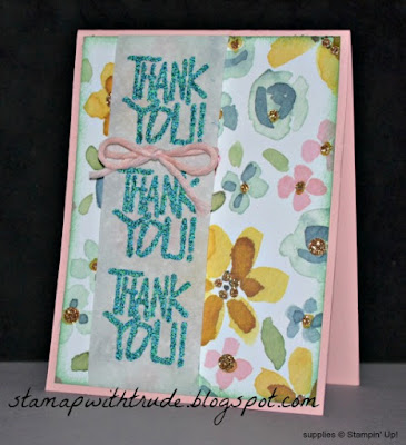 Thank You Blocks, Stampin' Up!, Trude Thoman, http://stampwithtrude.blogspot.com , Thank You card, Throwback Thursday