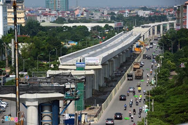 Tuyến đường sắt trên cao Nhổn - Gà Hà Nội