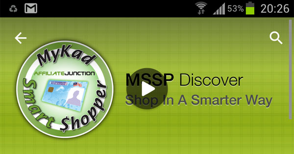 Mykad Smart Shopper Apps