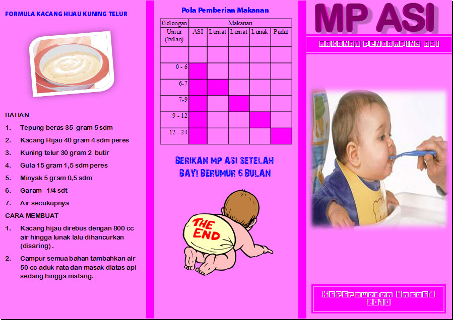 sebuah harapan: contoh-contoh leaflet tentang masalah