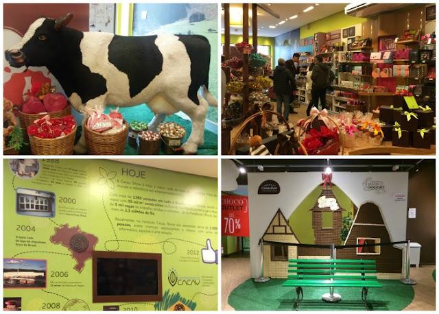O que fazer em Campos do Jordão com chuva - Vila de Chocolate na Cacau Show