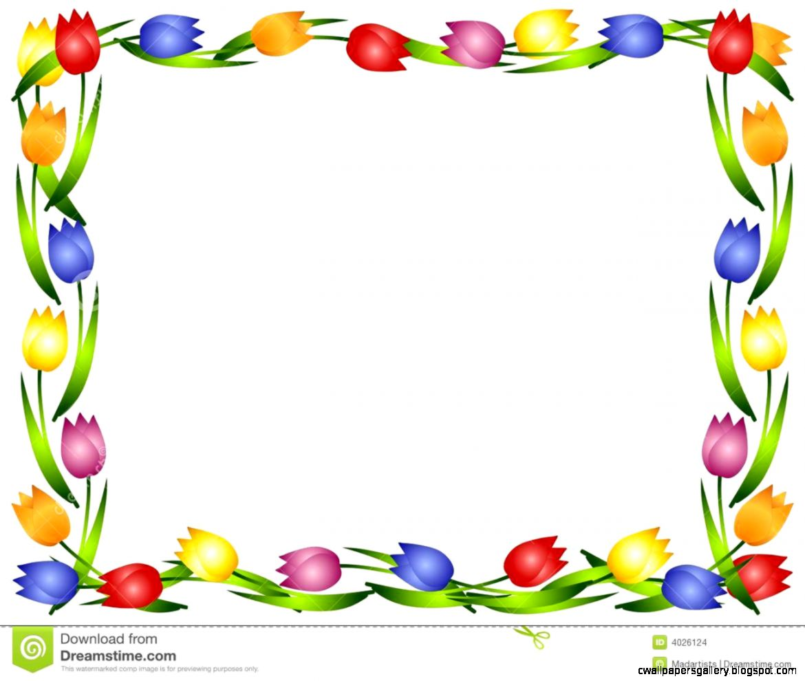 Spring Border Clipart | Wallpapers Gallery