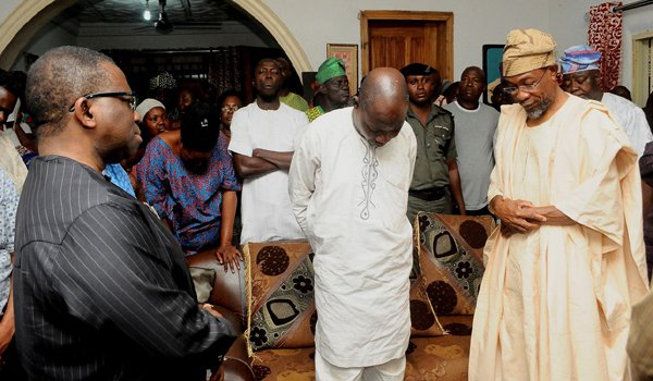 aregbesola visits family murdered permanent secretary