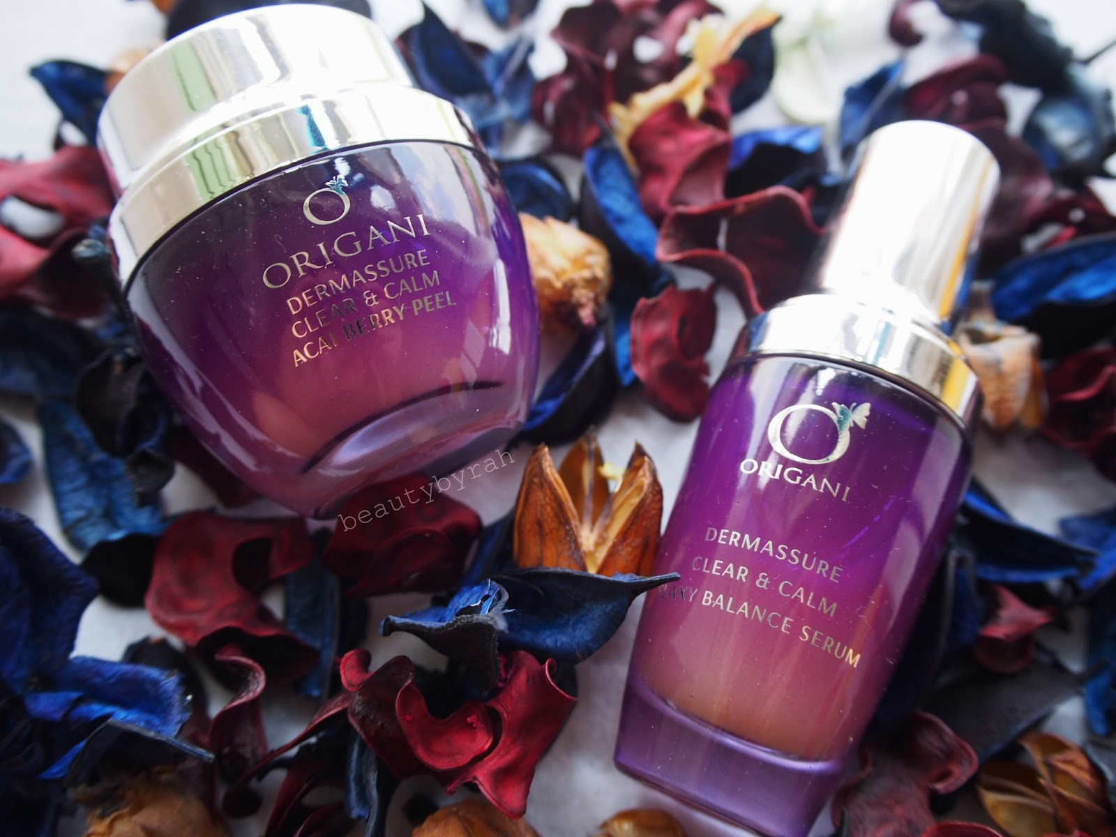 Origani Dermassure Clear & Calm Acai Berry Peel and Flaxy Balance Serum Review