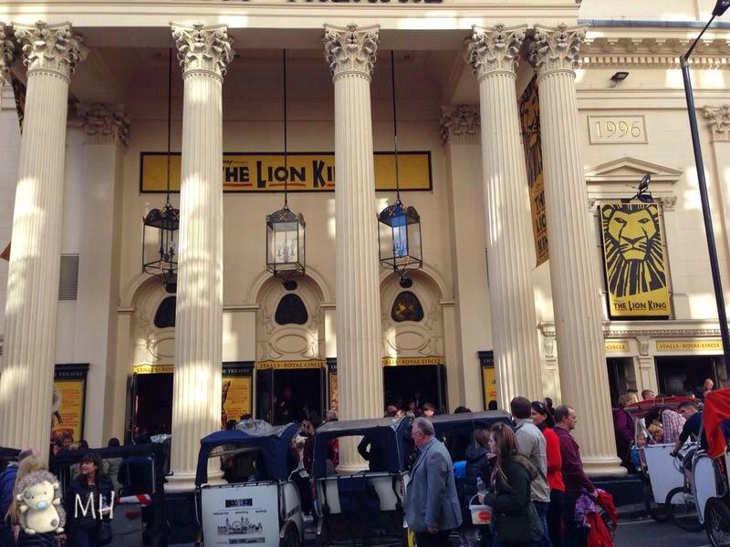 Musical el rey león en Londres