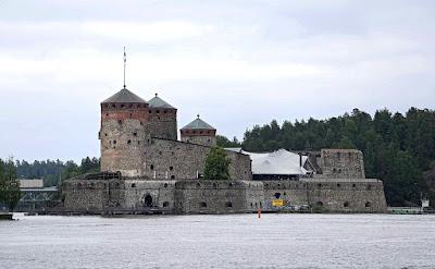 Olavinlinna Castle.