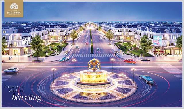 Bán đất sổ đỏ TP Đồng Xoài, Bình Phước: Cát Tường Phú Hưng
