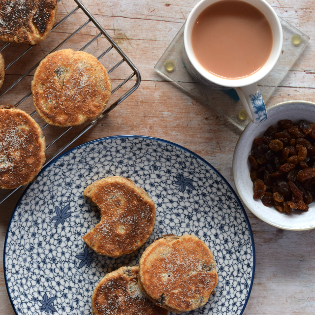 Wholemeal Spelt Welsh Cakes recipe from Tin and Thyme