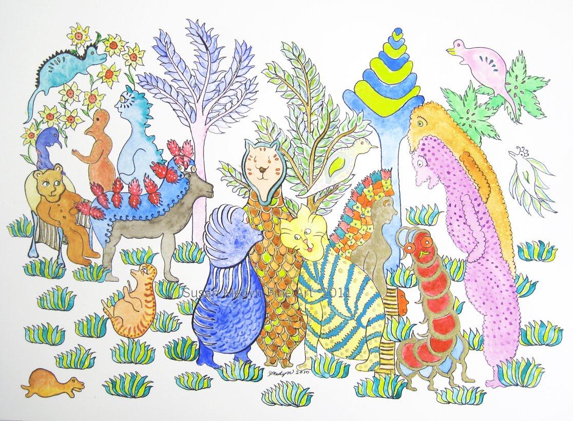 Illustrators International: WAITING FOR POGO, Visionary ...