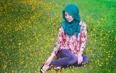 Tips Konsep Hunting Foto Hijab Natural dan Seksi