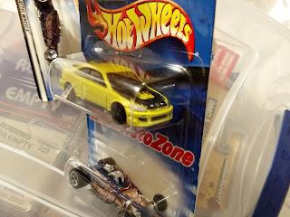 Hot Wheels  AutoZone 2-Car Set Honda Civic Si