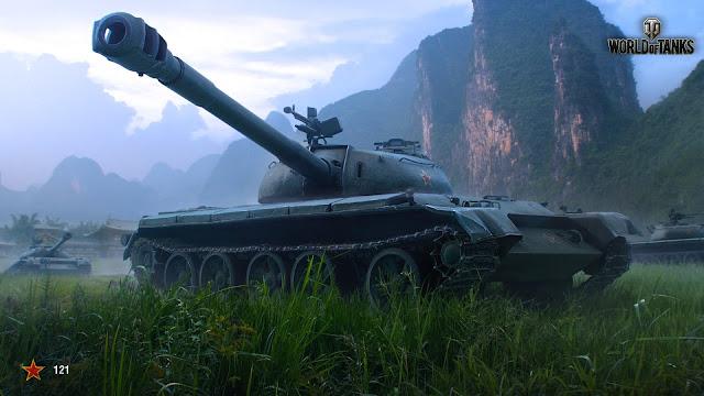 Xe tăng 121 - hình ảnh của Wargaming