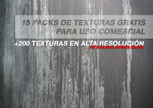 15 Free Texture Pack for Commercial Use