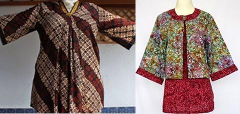 50+ Model Baju Batik Kantor Wanita Gemuk Modern Terbaru 2019 755a45736c