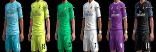 PES 2013 Real Madrid Kits 2016-2017 By Abiel