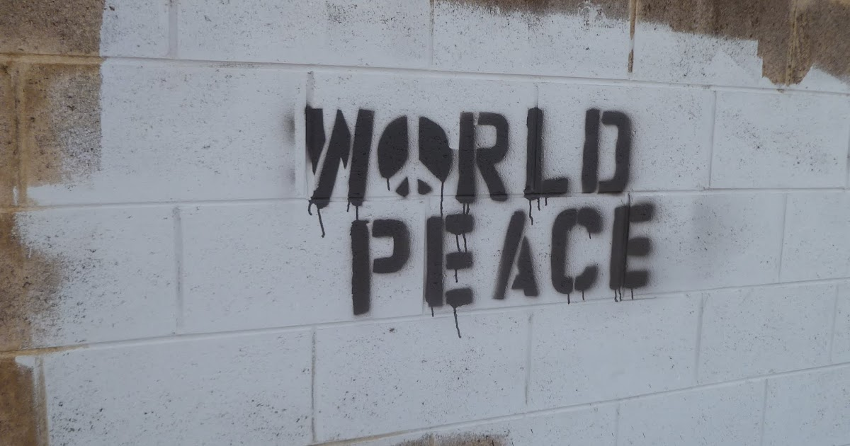 World Peace Water And Wild Street Art And Signs Maui Jungalow