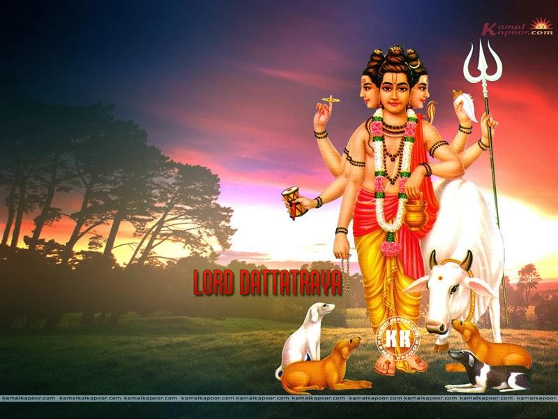 Sai Baba Animated Wallpapers Free Download Dattatreya Wallpapers Hindu God Wallpaper