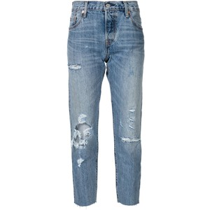 Distressed cropped jeans, $98 from Levi's