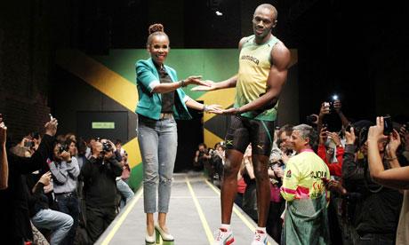 Lightning Usain Bolt, PUMA and fashion Fashion & Art