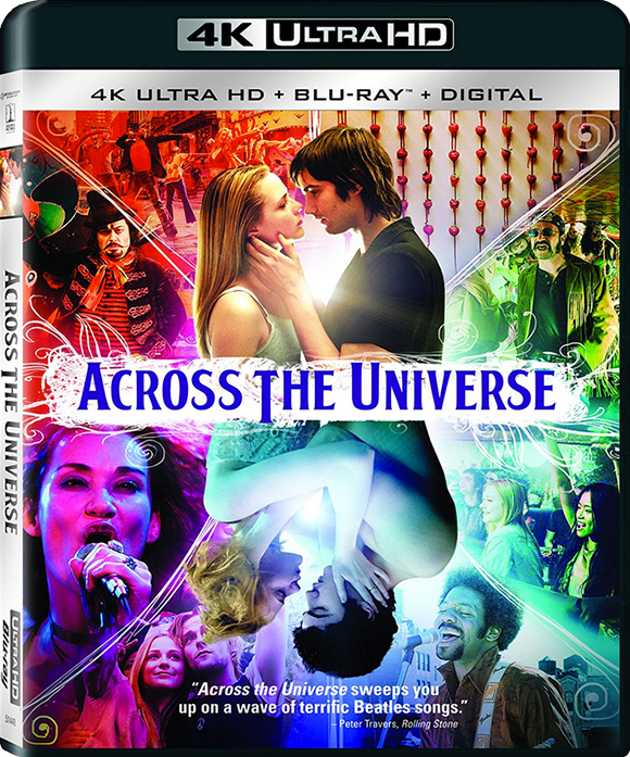 Le film « Across the Universe » en 4K Ultra HD Blu‑Ray