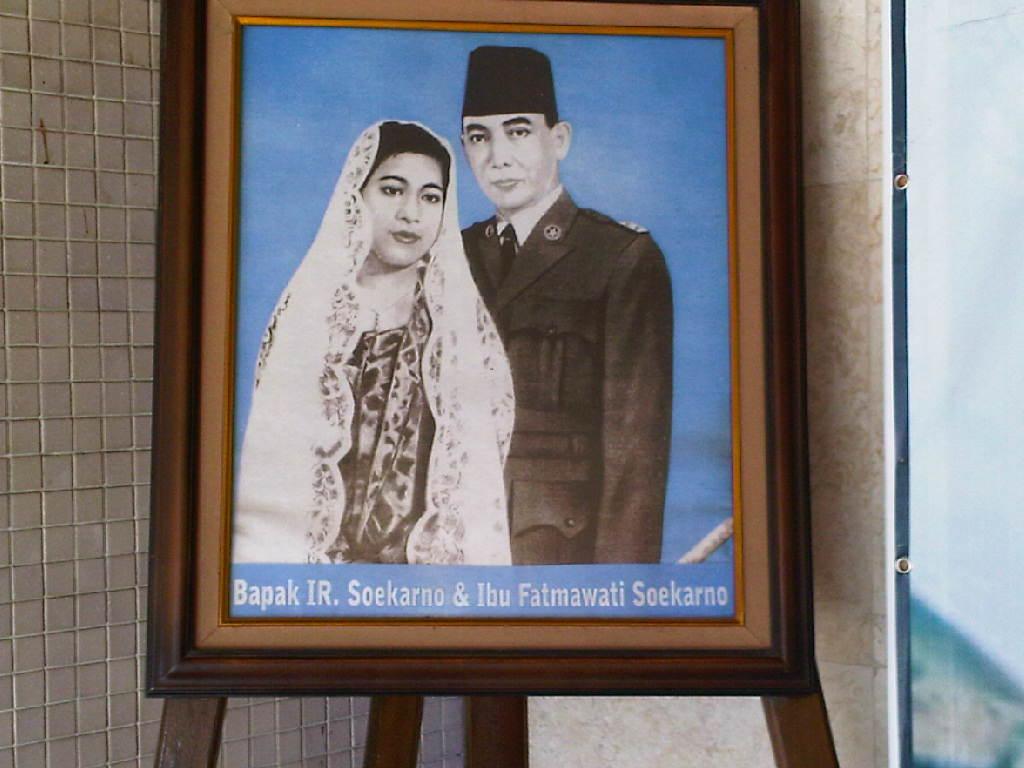 fatmawati dan soekarno, lukisan fatmawati dan soekarno