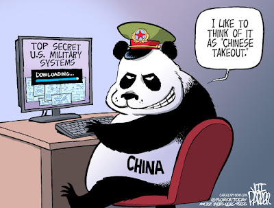 Image result for US Congressional report warns that China is getting even better at stealing US military technology and secrets