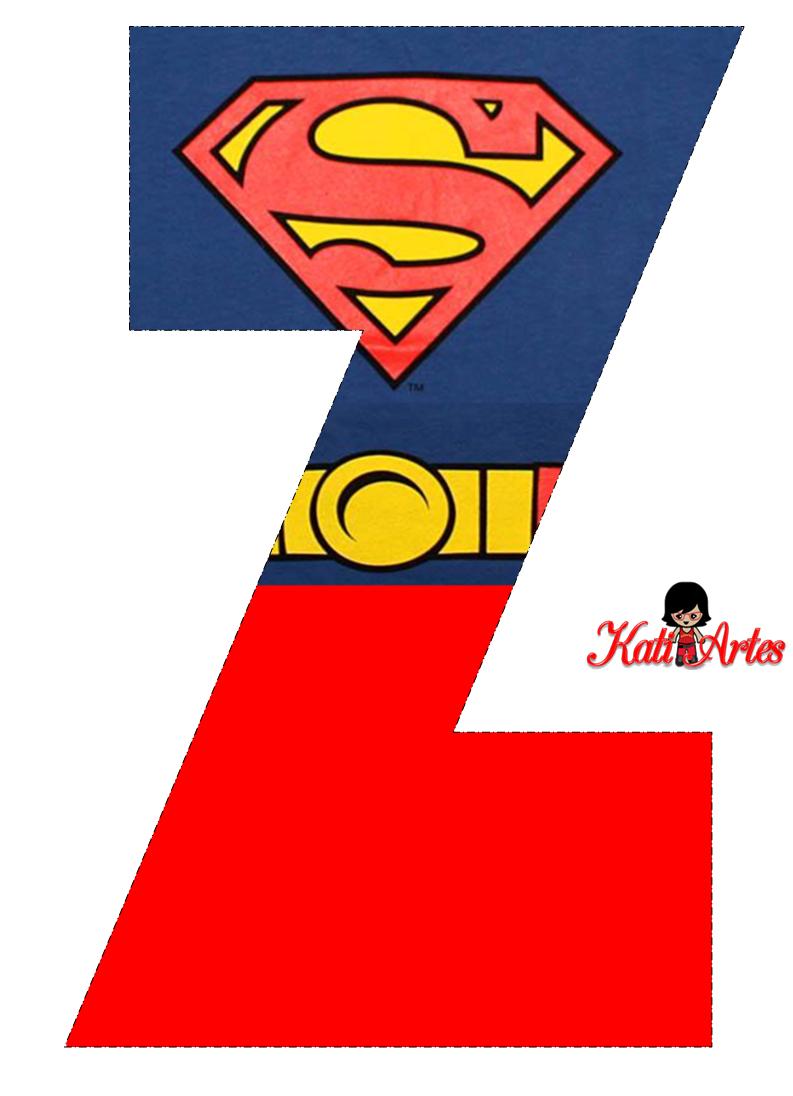 Lindo Alfabeto De Superman Gratis Oh My Alfabetos