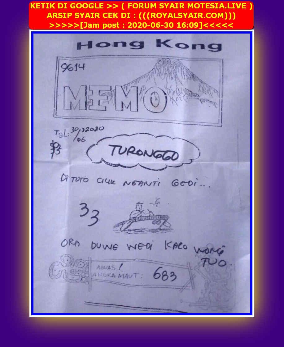 Kode syair Hongkong Selasa 30 Juni 2020 60