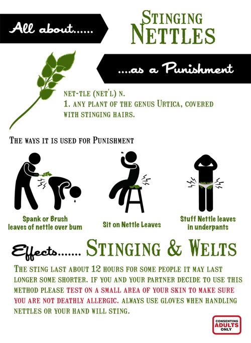 Nettles punishment