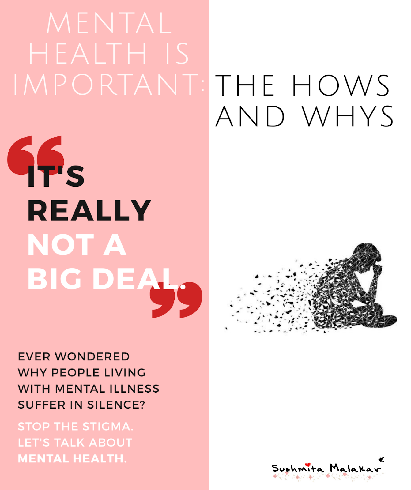 Mental Health is Important: The Hows and Whys (#superbloggerchallenge2018)