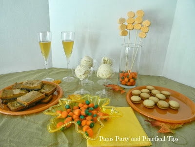 How to put together a pumpkin themed party for under $20.