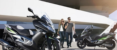 Kawasaki J125, tu scooter deportiva