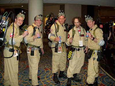 Ghostbusters Group Costumes