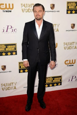 Leonardo Dicaprio Critics Choice Movie Awards 2014