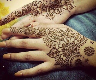 Easy Mehndi Designs Drawings