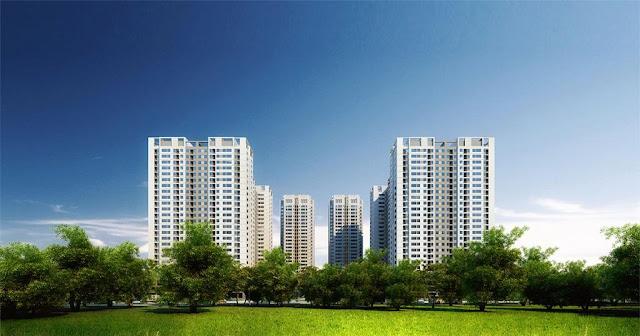 Phối cảnh tổng thể dự án chung cư Số 1 Trần Thủ Độ