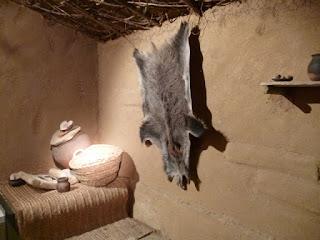 Reproducción del interior de vivienda vetona