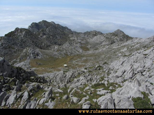 Mirador de Ordiales y Cotalba: Camino al refugio del mirador
