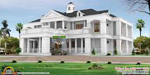 Colonial Home with Pillars