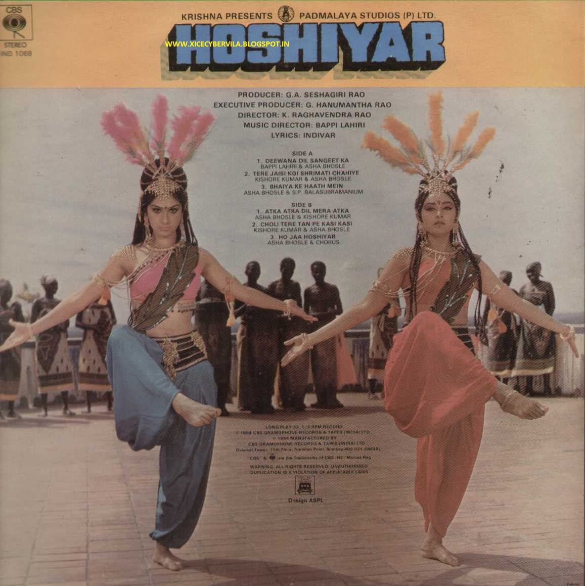 Koi Puche Mere Dil Pe Mp3 Song Download: COLLEGE PROJECTS AND MUSIC JUNCTION: HOSHIYAR (1985) / OST