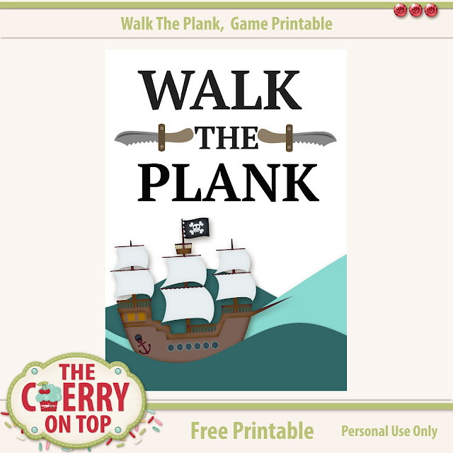 free printable from The Cherry On Top