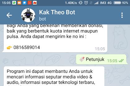 Oprek Semua (All) HP Android dengan @kaktheobot Telegram