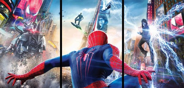 The Amazing Spider-Man 2: El Poder de Electro - Banner