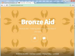 Bronze Aid adware