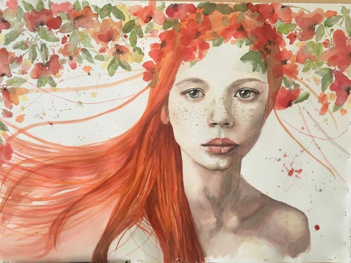 Испанский художник. Eva Gonzalez Moran