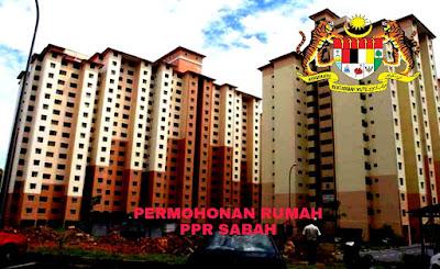 Permohonan Rumah PPR Sabah 2018 Online