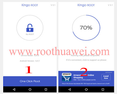 How to root Huawei Ascend G6 with Kingoroot.apk