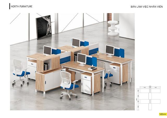 Mẫu bàn làm việc văn phòng chân sắt của Miền bắc  có kết cấu vô cùng vững chãi với khung chân bàn bằng sắt sơn tĩnh điện có độ chắc chắn cao