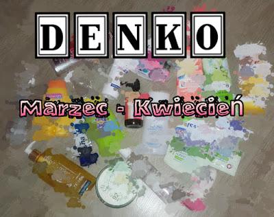 Denko Marzec- Kwiecień