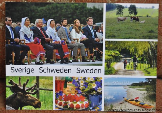 Pocztówkowa podróż dookoła świata: Szwecja- Göteborg. #3  (POSTCROSSING)